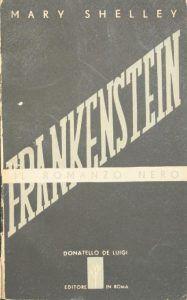 prima edizione italiana di Frankenstein
