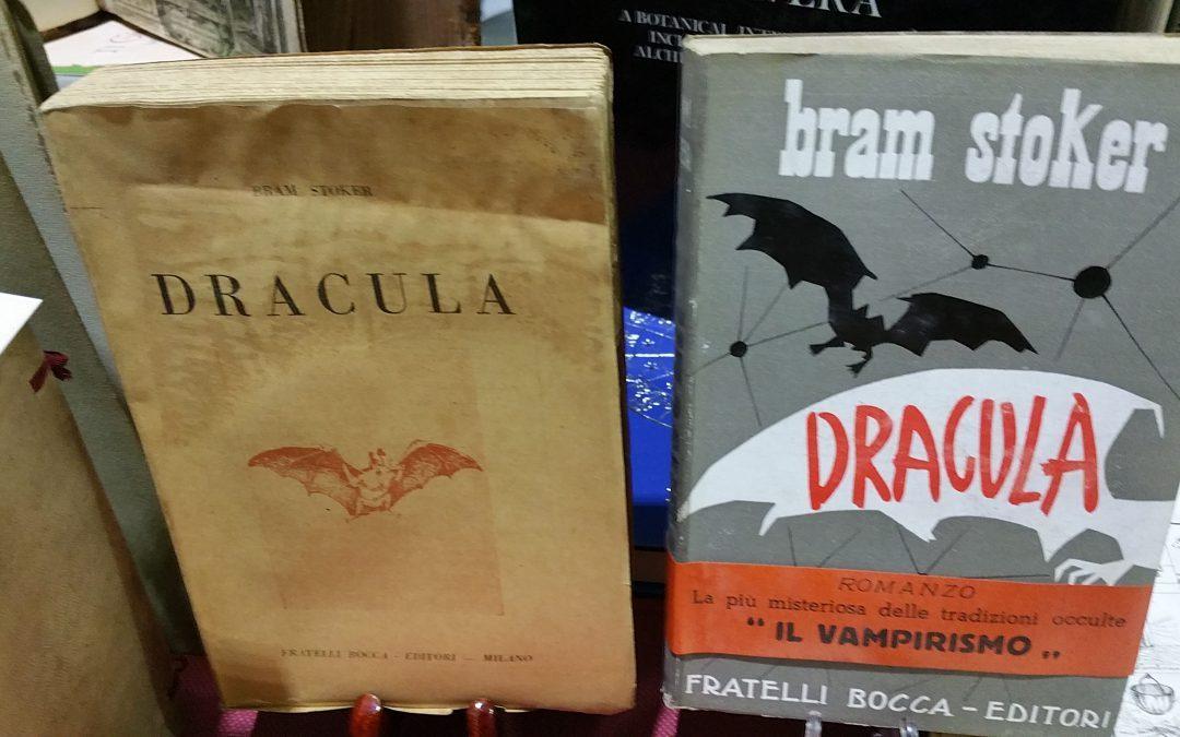"""Al Salone due rare edizioni italiane di """"Dracula"""" di Bram Stoker"""