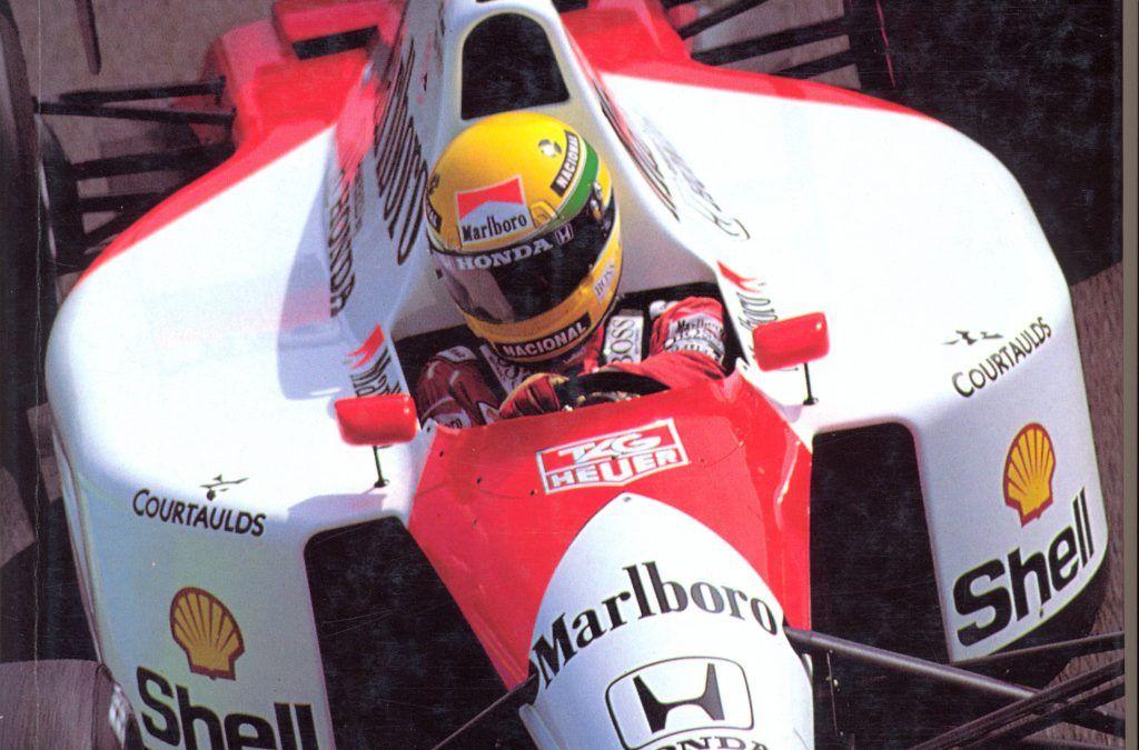 """…su eBay l'unico libro scritto da Ayrton Senna: """"Guidare in pista"""", raro!"""