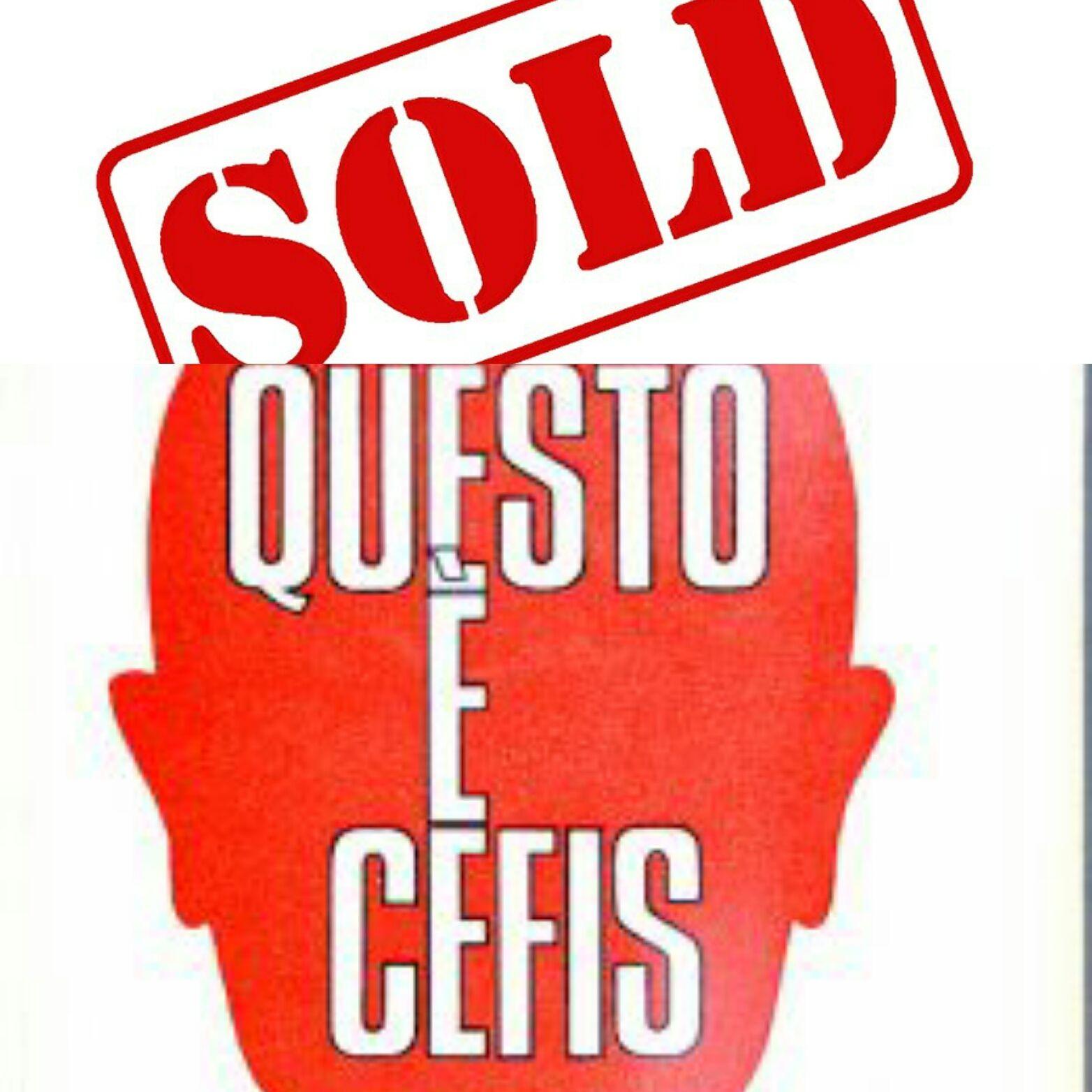 """…su Abebooks venduto """"Questo è Cefis"""" di Giorgio Steimetz a 12 €"""