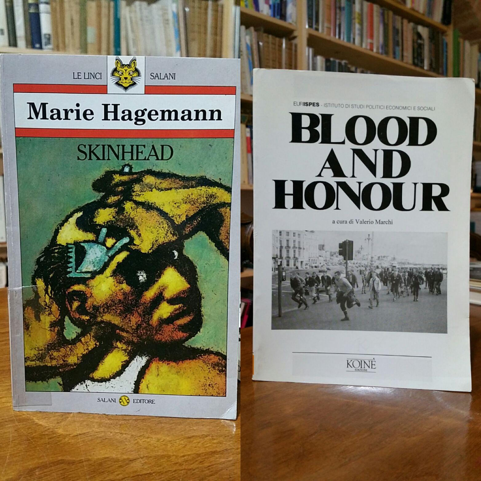I primi libri in Italia sul fenomeno Skinhead