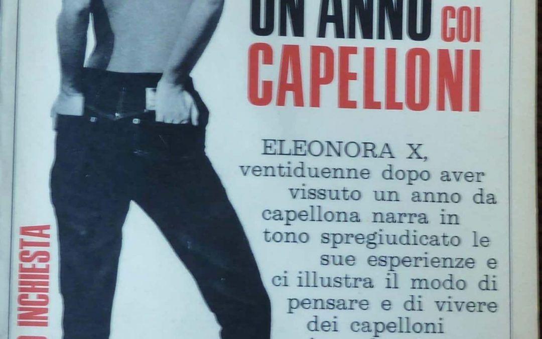 """In una bancarella """"Ho vissuto un anno coi capelloni"""" di Eleonora Ichx"""