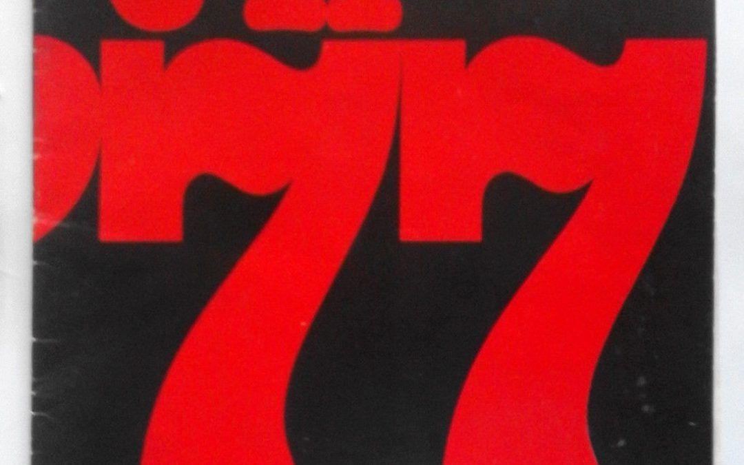 """…su eBay c'è una ambita copia di """"È il '77"""", dei Libri del No!"""