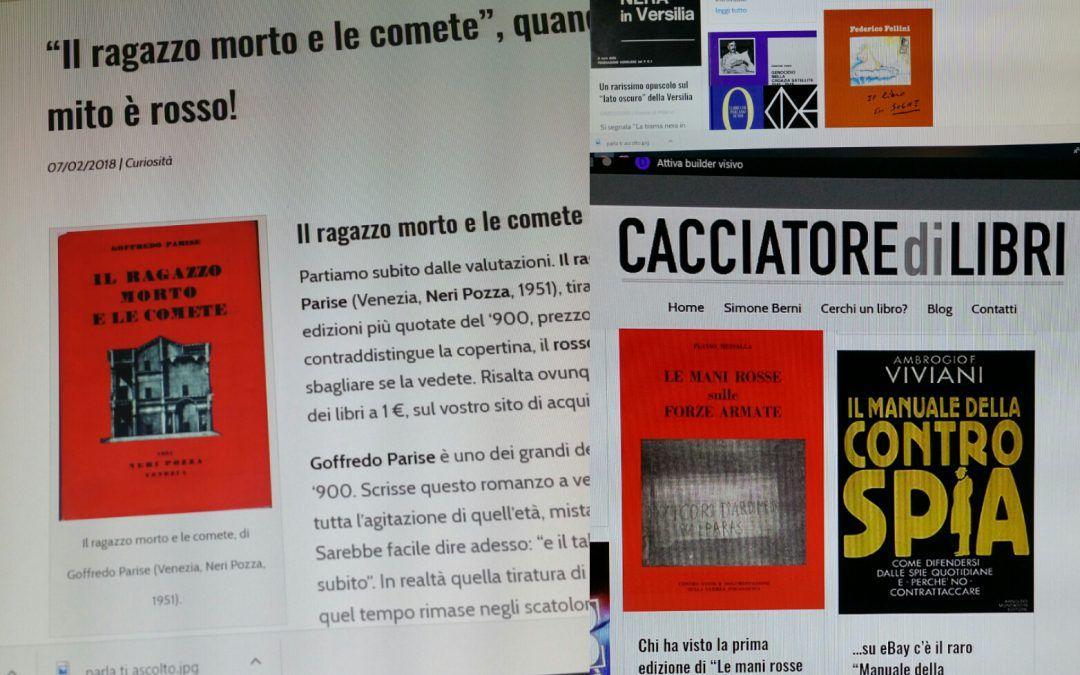 I 10 articoli più letti su CACCIATORE DI LIBRI nei primi 3 mesi di vita