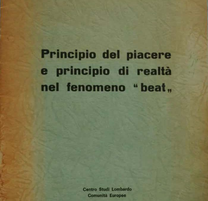 Il Beat italiano come fenomeno psicanalitico