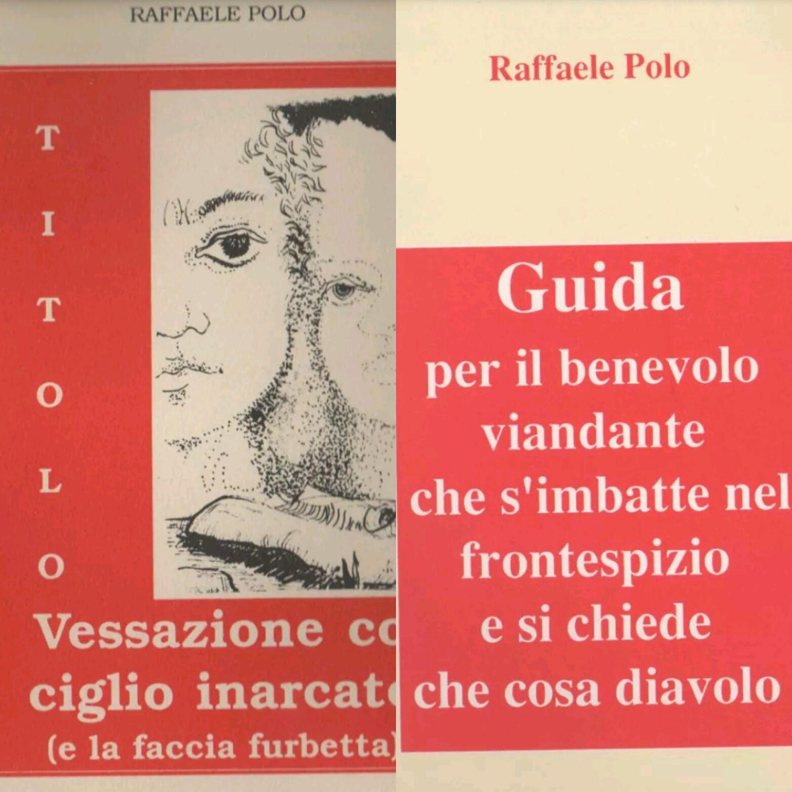…su eBay ci sono due singolari e rari libri di Raffaele Polo