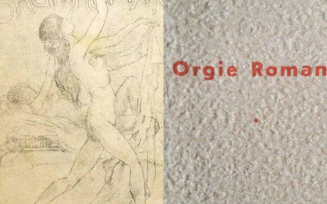 """…su eBay c'è """"Orgie romane"""" di Marco Claudio Varrone"""