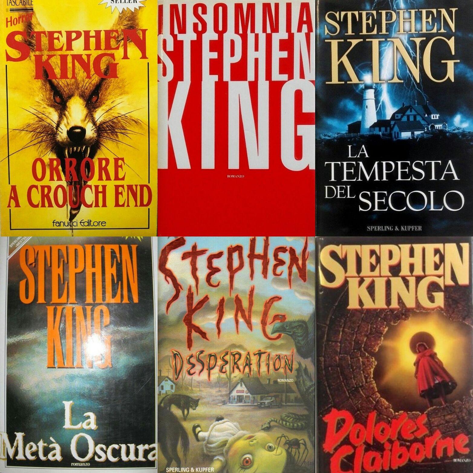 …su eBay ci sono 6 prime edizioni di Stephen King sotto i 6 euro