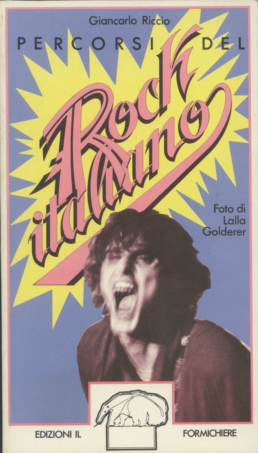 """""""Percorsi del Rock italiano"""" di Giancarlo Riccio al mercatino"""