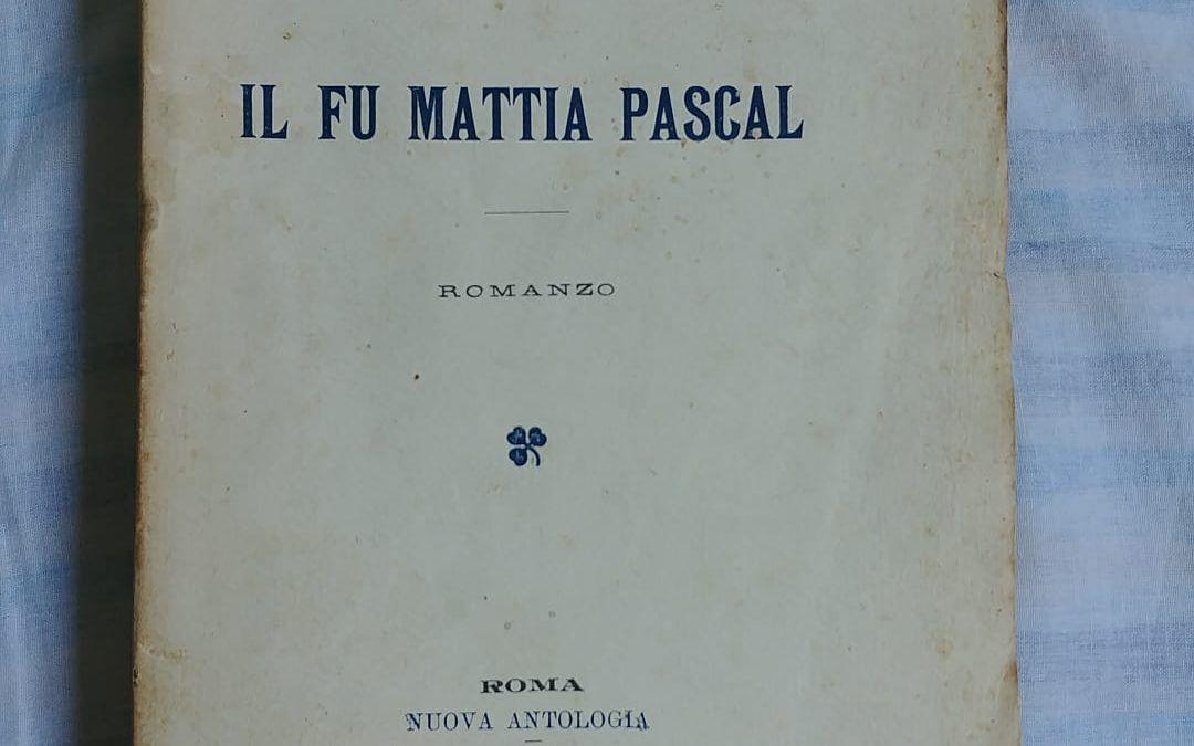 """…quando a Piazza Diaz (Milano) presi """"Il fu Mattia Pascal"""" di Pirandello per 15.000 lire"""