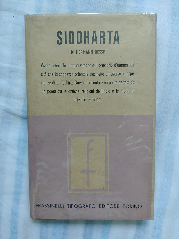 """La prima edizione del """"Siddharta"""" di Hermann Hesse con la sovraccopertina"""