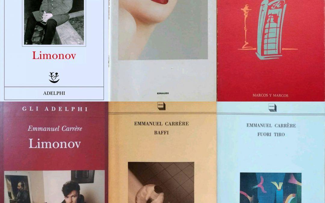 I libri scomparsi di Emmanuel Carrère: il punto della situazione