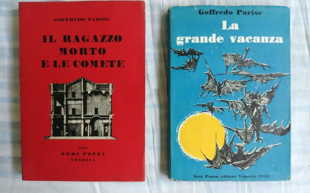 "…quando a Piazza Diaz (Milano) presi due ""perle"" di Goffredo Parise"
