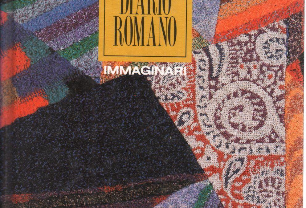 """""""Diario Romano"""" di ÉmileZola con copertina di Missoni"""