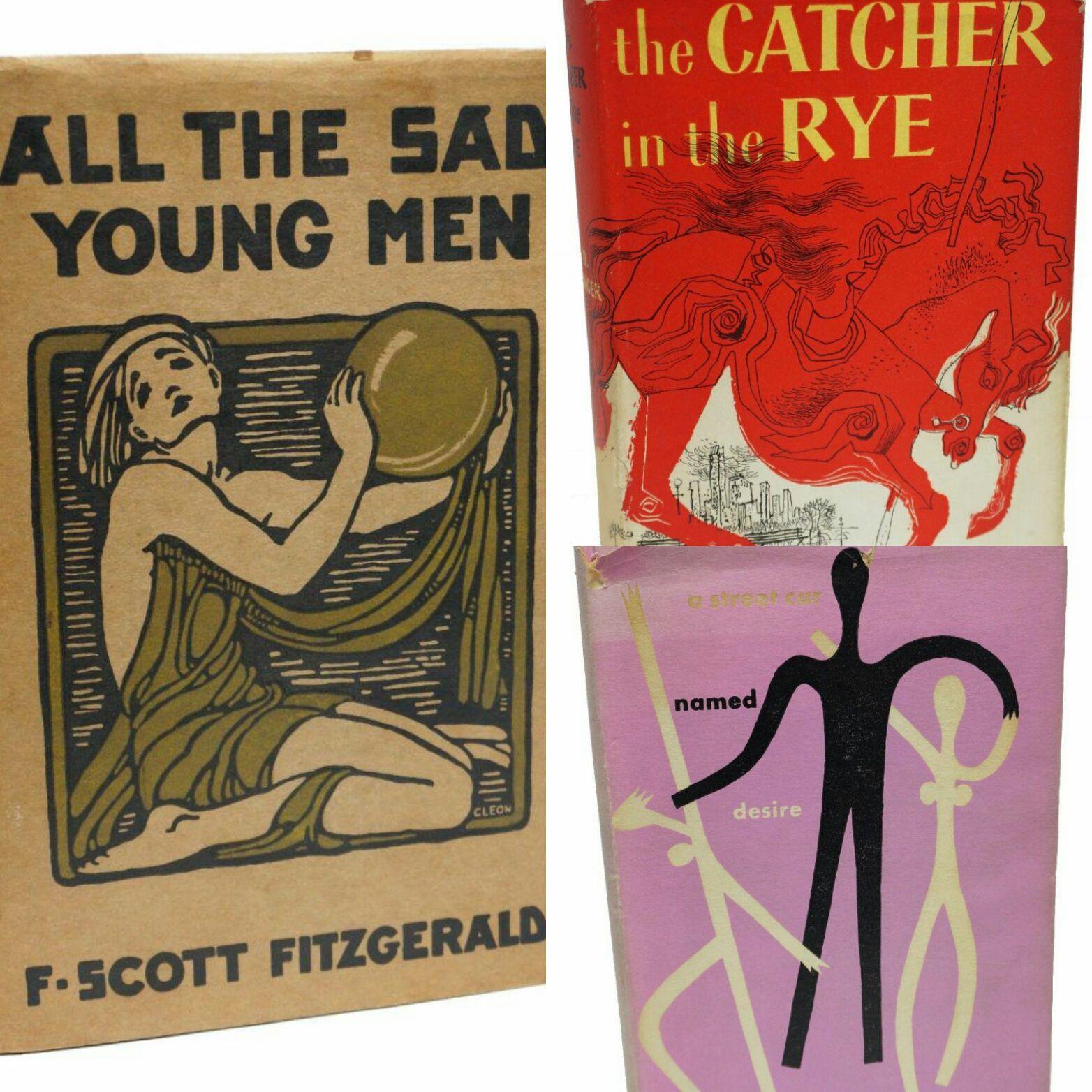 …Curiosando su eBay U.S.A.: Scott Fitzgerald, Tennessee Williams, J. D. Salinger