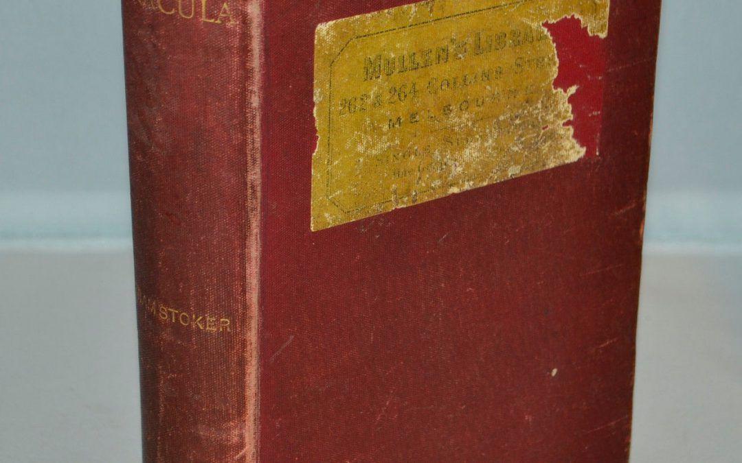 …su eBay USA l'edizione coloniale di Dracula di Bram Stoker: la più rara di tutte