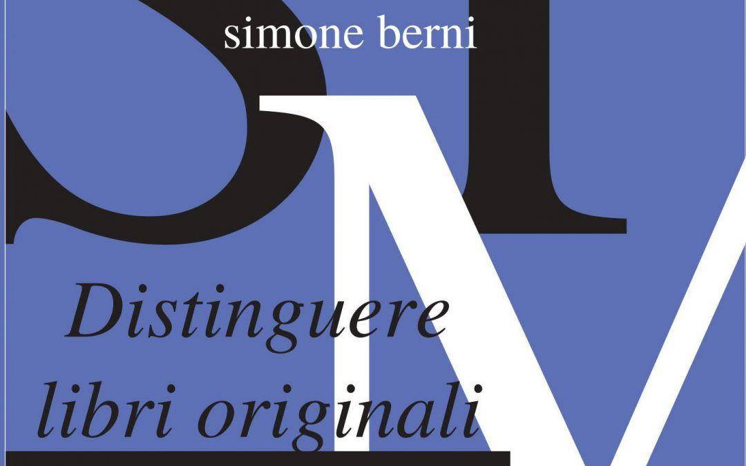 DISTINGUERE LIBRI ORIGINALI DA COPIE PIRATA, di Simone Berni
