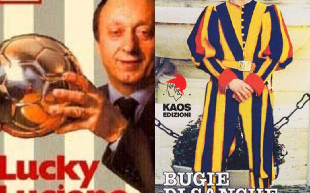 Due libri controversi della Kaos edizioni in bancarella