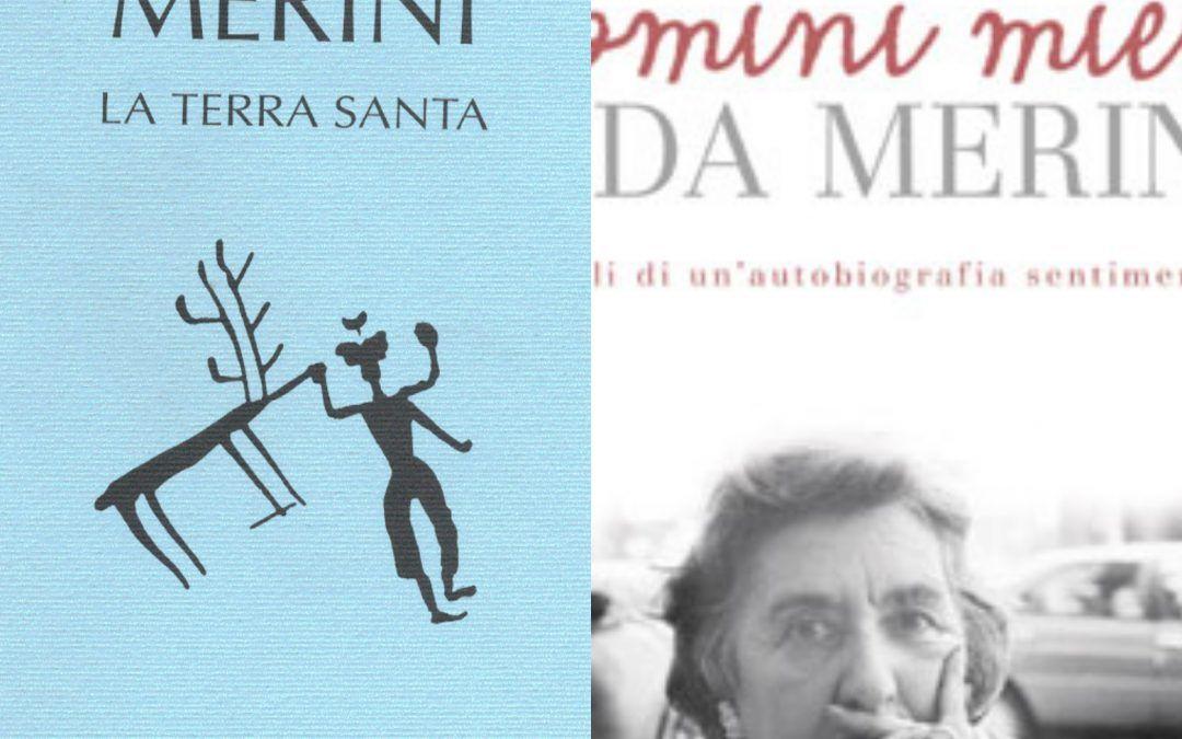 Due libri di Alda Merini in bancarella