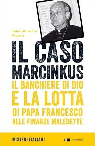 """""""Il caso Marcinkus"""" di Fabio Marchese Ragona al mercatino"""