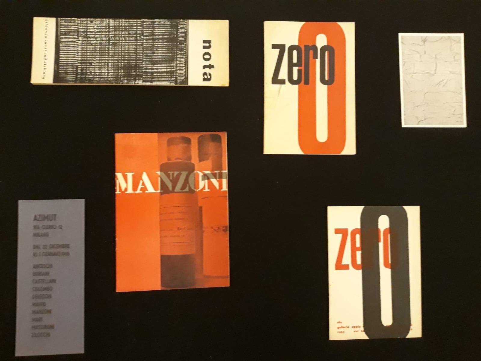 Straordinaria mostra sui documenti di Piero Manzoni alla Hauser & Wirth di Los Angeles