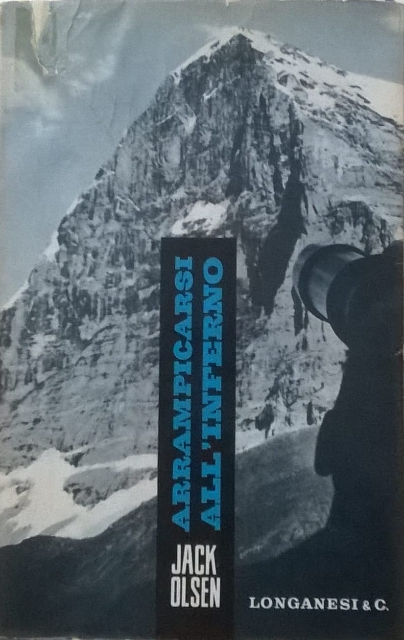 """Arrampicarsi all'inferno"" di Jack Olsen al mercatino"