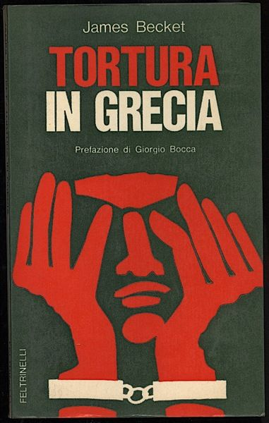 "…su eBay c'è ""Tortura in Grecia"" di James Becket (1970)"