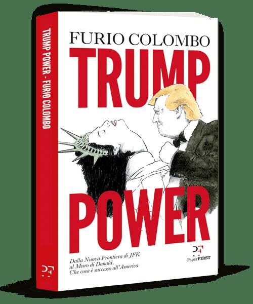 """""""Trump Power"""" di Furio Colombo scontato al mercatino!"""