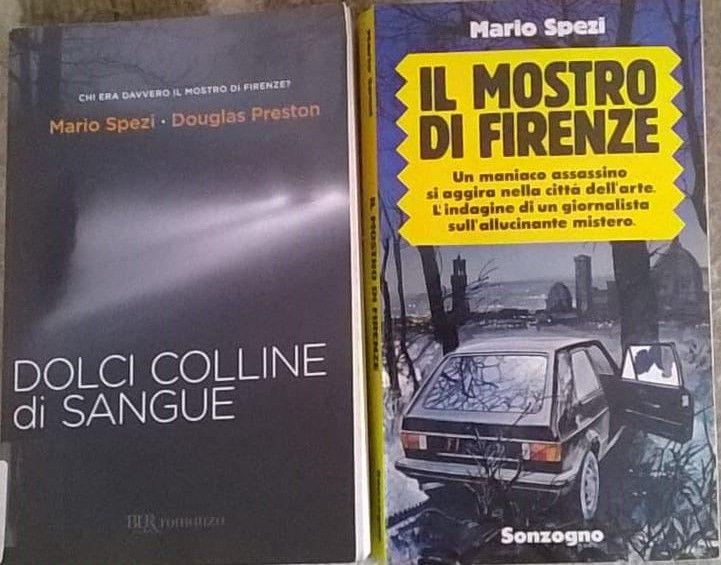 """Due libri sul caso del """"Mostro di Firenze"""" in bancarella!"""