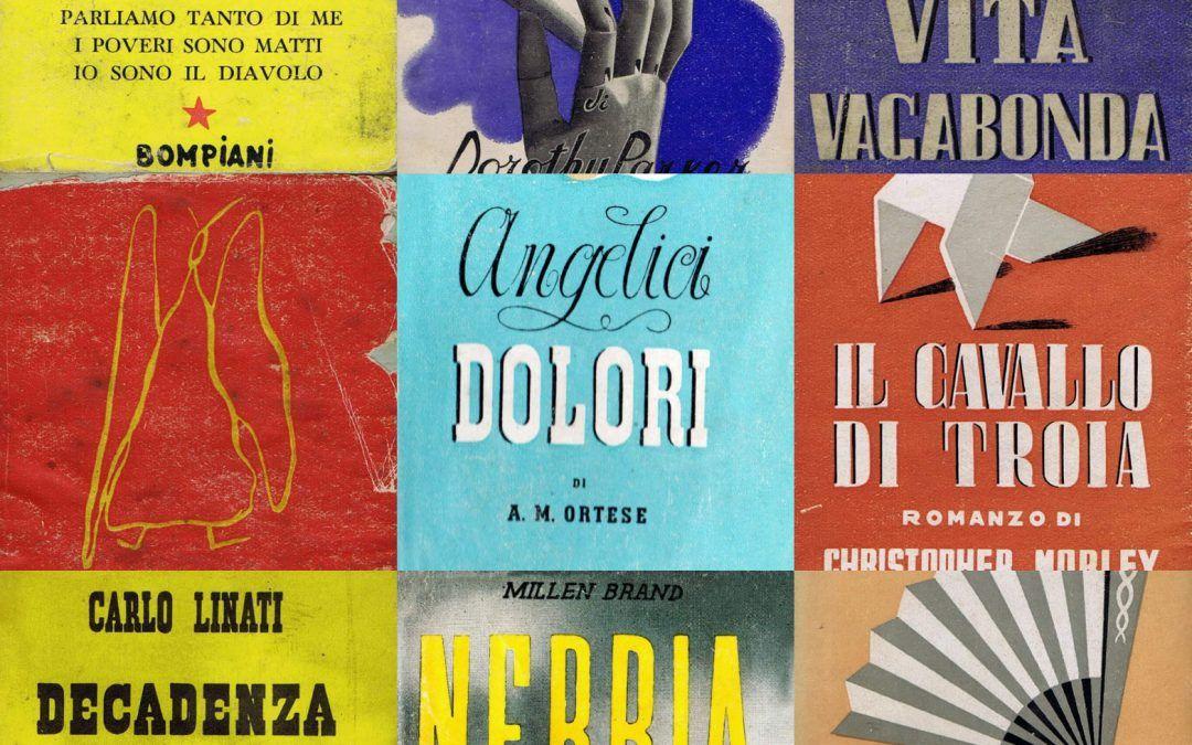 """Tutto il pubblicato della collana """"La Zattera"""" di Bompiani: una collezione strepitosa!"""