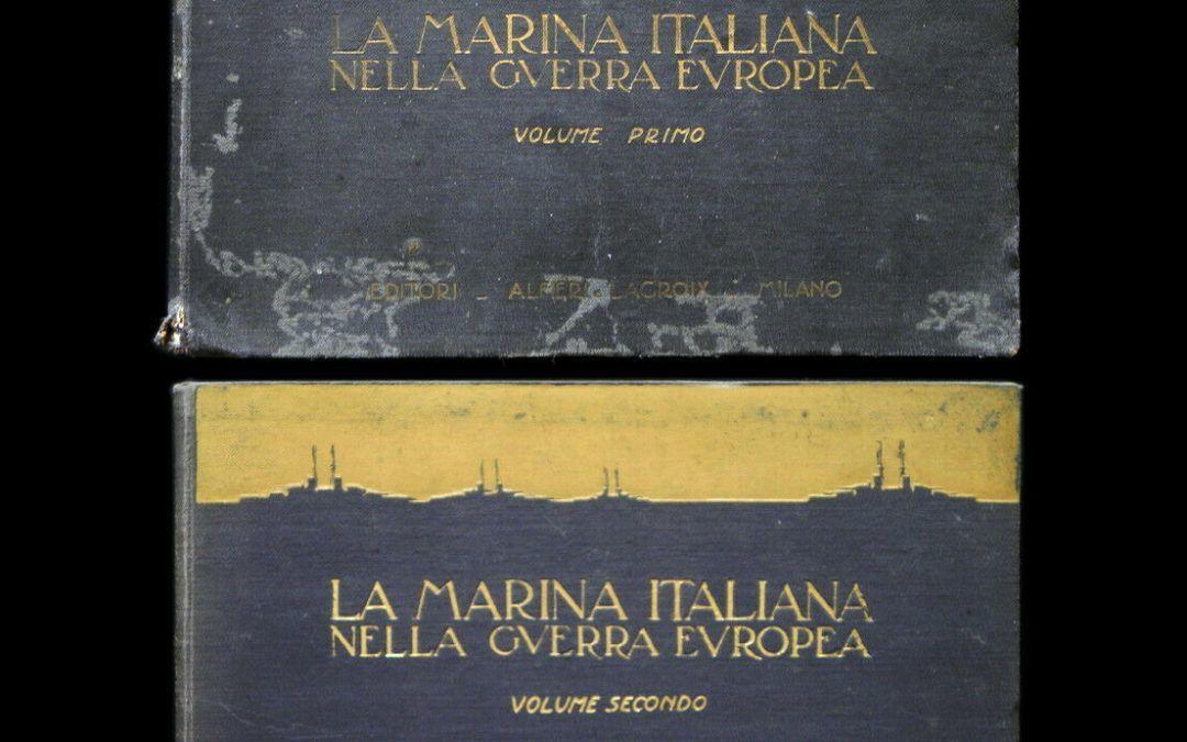 """""""La Marina Italiana nella guerra europea"""": cosa ci sarà scritto alle pagine 247/248?"""