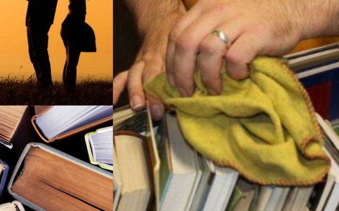 Le 5 cose da non fare mai se il vostro partner è un amante dei libri!