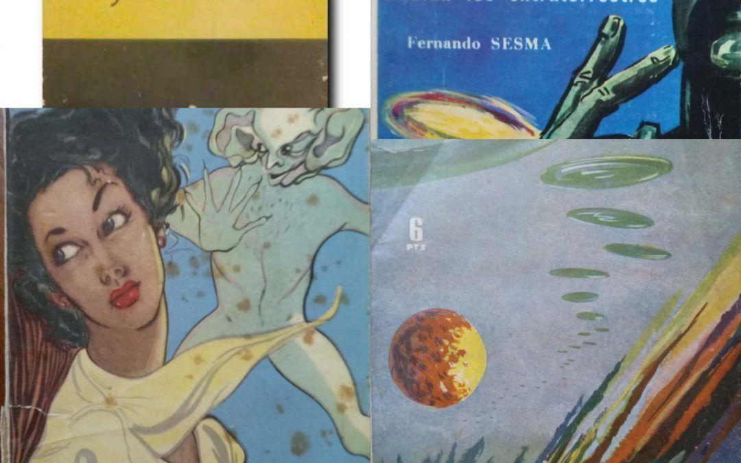 I primi libri spagnoli sugli UFO (anni '50)