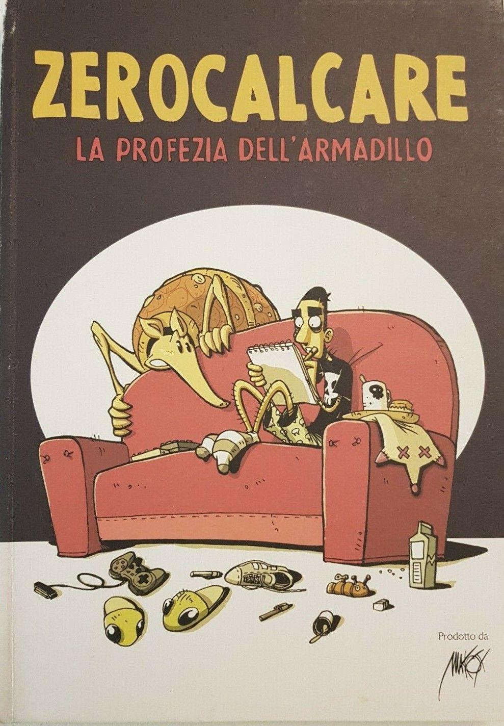 """Zerocalcare è il nuovo fenomeno nazionale, e i suoi primi libri """"spiccano il volo""""…"""