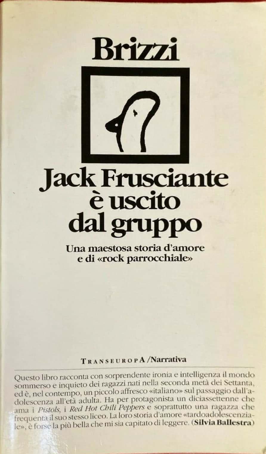 """su eBay è stata venduta la prima edizione di """"Jack Frusciante è uscito dal gruppo"""""""
