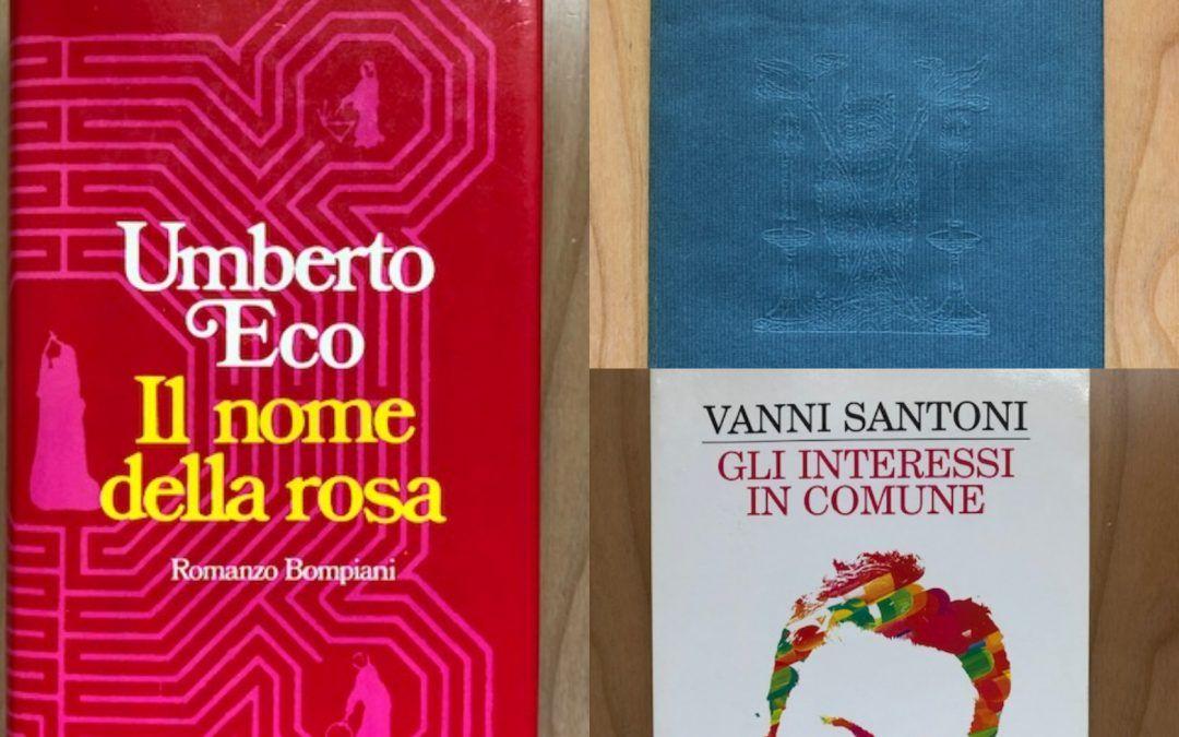 """Prime edizioni di Umberto Eco al """"Libraccio"""" di Bologna!"""