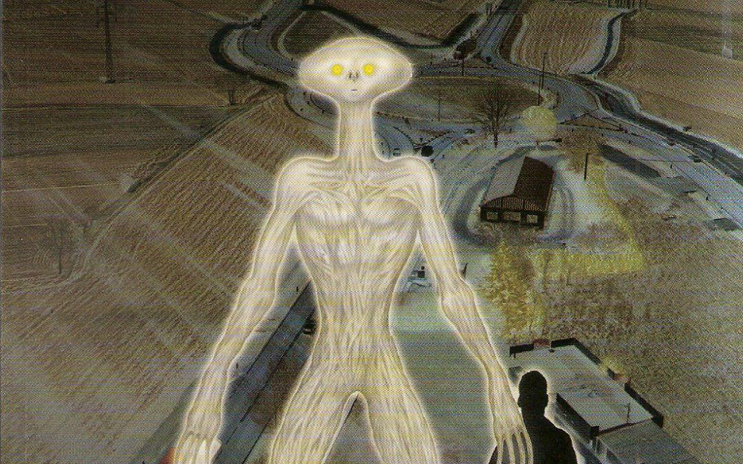 """""""La creatura di Mortegliano"""" di Antonio Chiumiento, raro libro ai margini perfino dell'Ufologia…"""