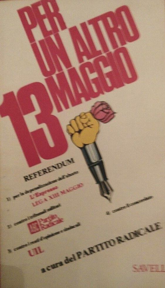 """""""Per un altro 13 Maggio"""" (opuscolo del 1975) al mercatino"""