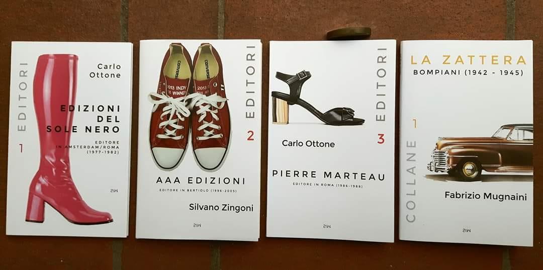 """Al Salone della cultura di Milano le ultime copie delle """"collanine"""" delle Edizioni SO"""
