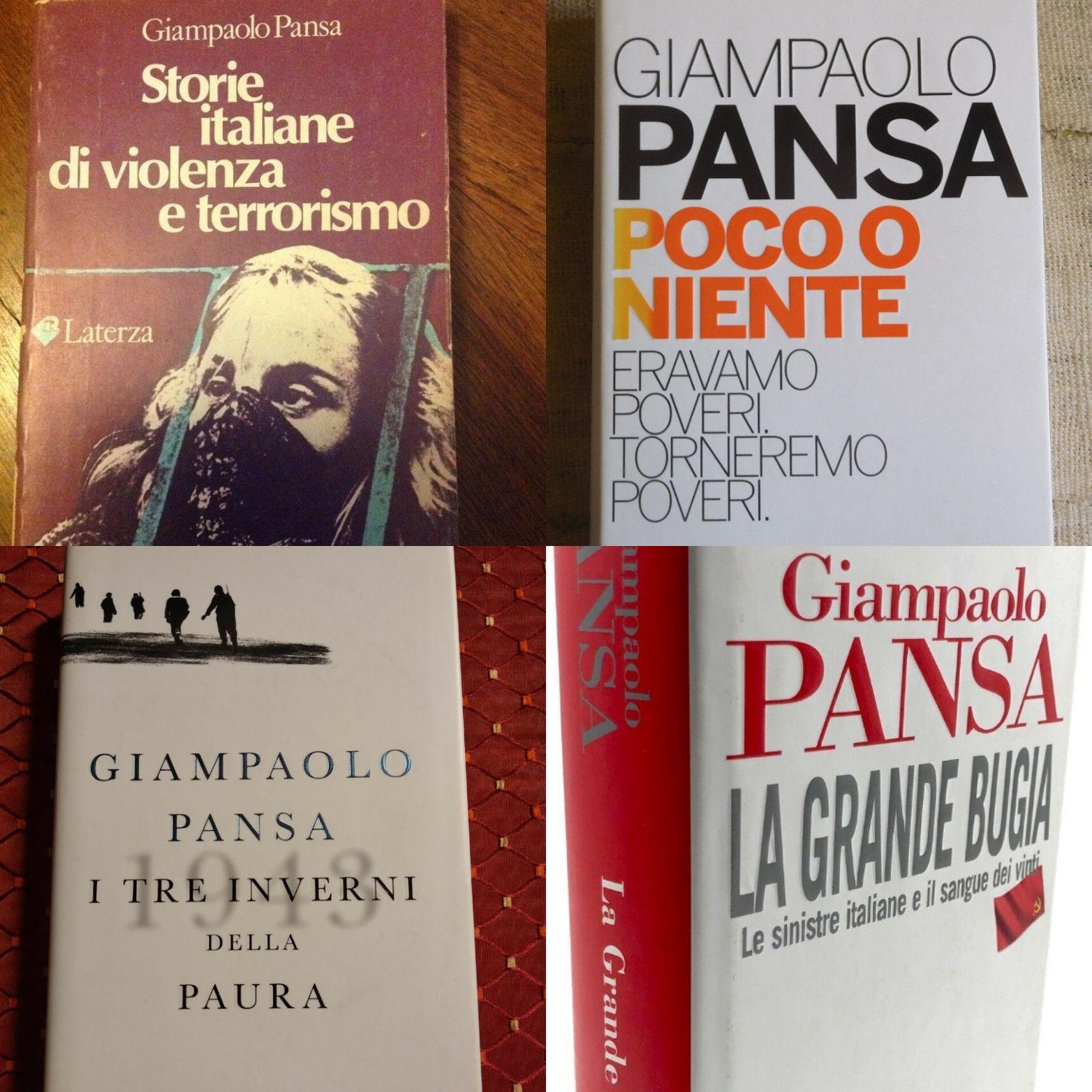 Dopo la notizia della morte di Giampaolo Pansa è caccia alle prime edizioni sotto i 10€