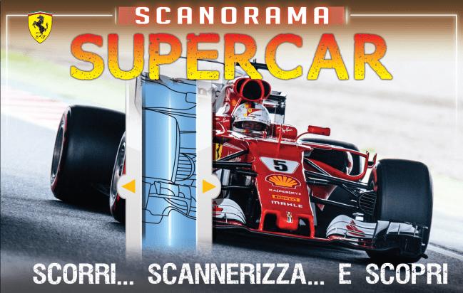 """""""Scanorama Supercar"""" un libro con le immagini a raggi x al mercatino"""