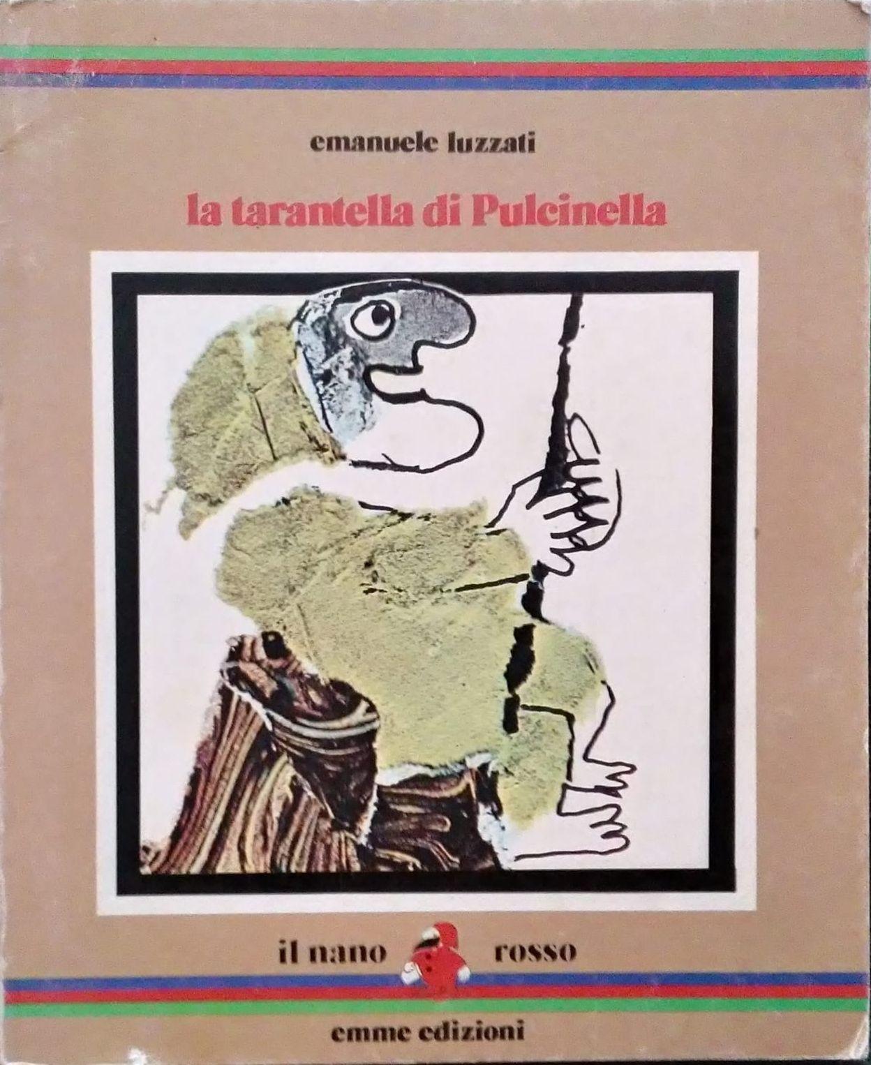"""""""La tarantella di Pulcinella"""" di Emanuele Luzzati al mercatino"""