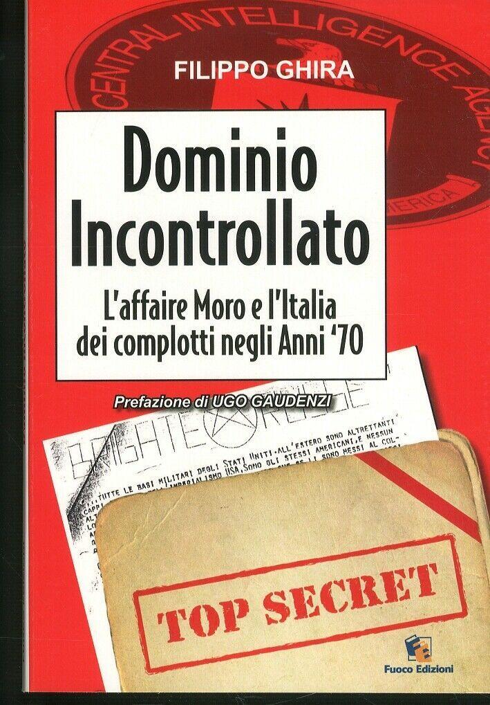 """""""Dominio incontrollato"""" (caso Moro) di Filippo Ghira al mercatino"""