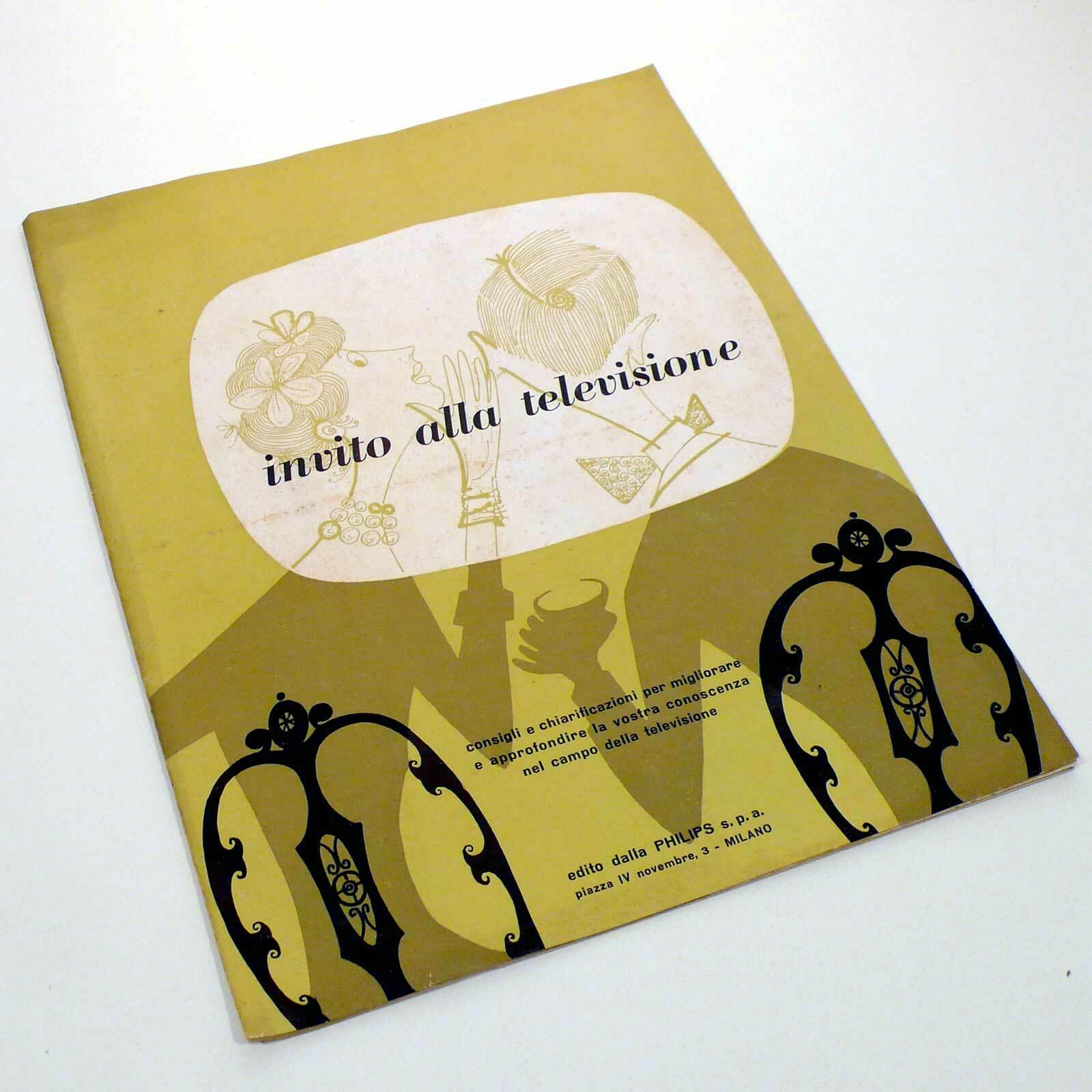 """""""Invito alla televisione"""" un opuscolo di archeologia televisiva"""