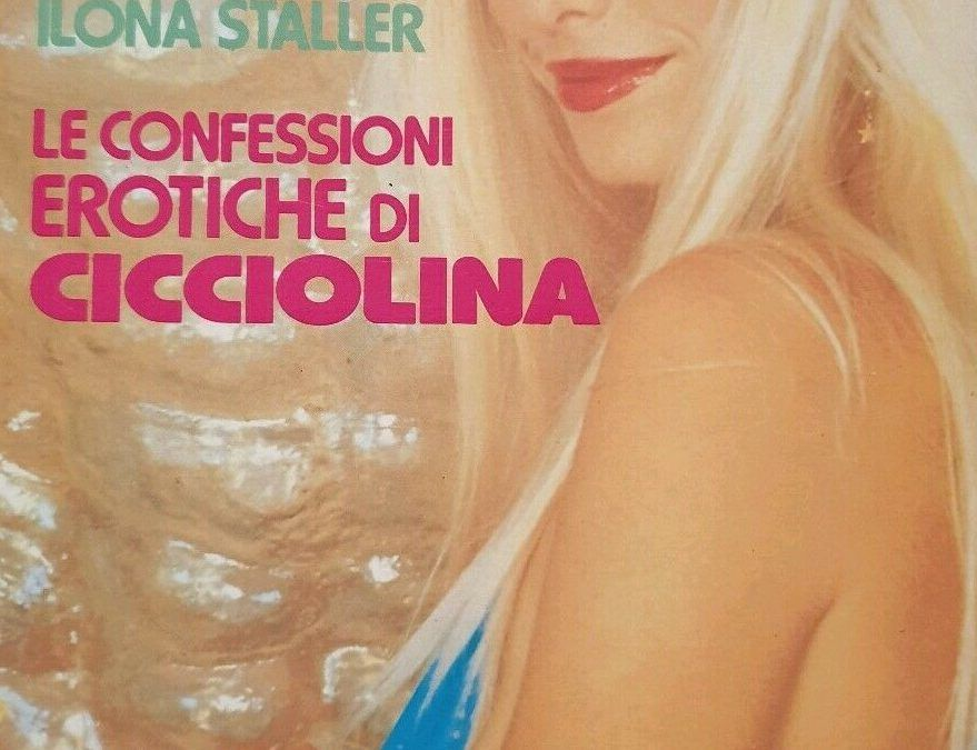 Un poker di libri per Cicciolina, che qualcuno chiama Ilona Staller