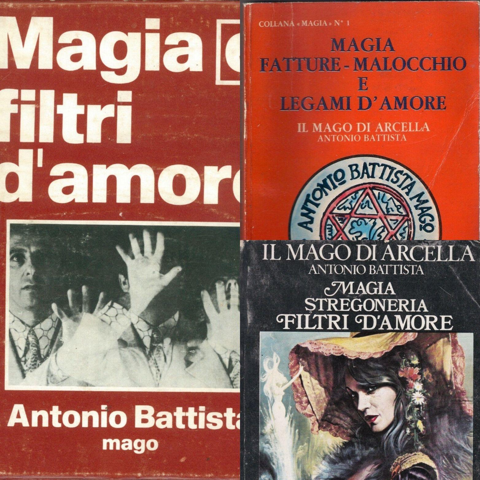 Vi ricordate il Mago di Arcella (Antonio Battista)? I suoi libri anni '70 sono da collezione!