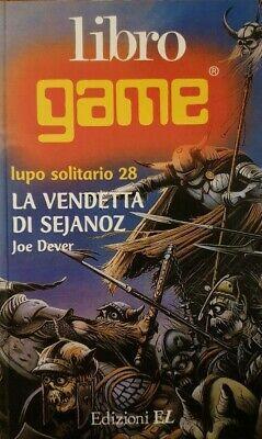 """""""La vendetta di Sejanoz"""" (Lupo solitario n. 28): librogame da collezione!"""