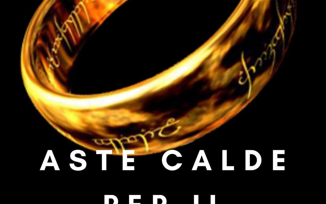 """Aste calde su eBay per """"Il Signore degli anelli"""" in scadenza 6 & 7 Aprile 2020"""