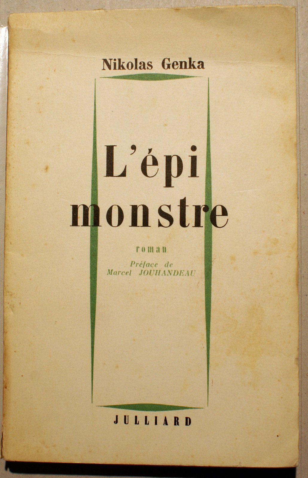 """""""L'épi monstre"""" di Nicolas Genka, un clamoroso caso di censura negli anni '60"""