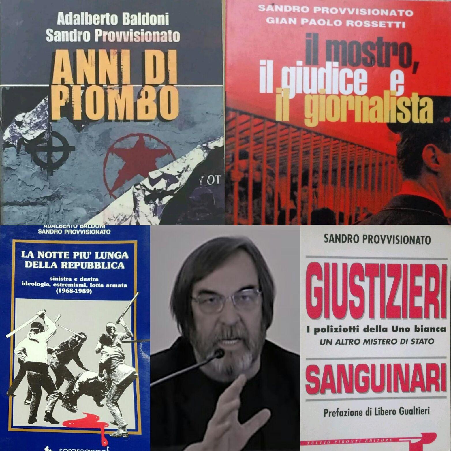 I 4 libri più ricercati dell'autore cult Sandro Provvisionato